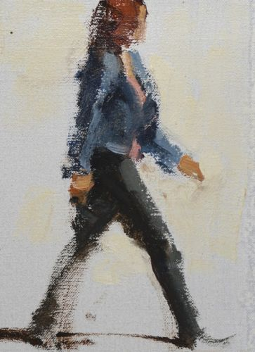 Quick Gestures in Oil