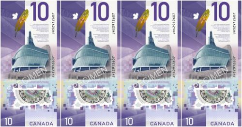New Canadian $10 Bill to Feature Antoine Predock's Canadian Museum for Human Rights