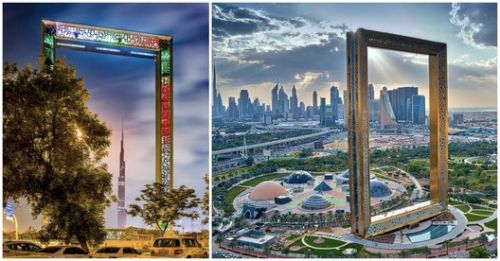 """World's Largest Picture Frame"" Opens in Dubai"