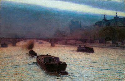 Aleksander Gierymski, Evening on the Seine