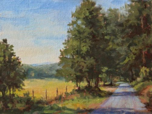 "Painting North Georgia ""En Plein Air"