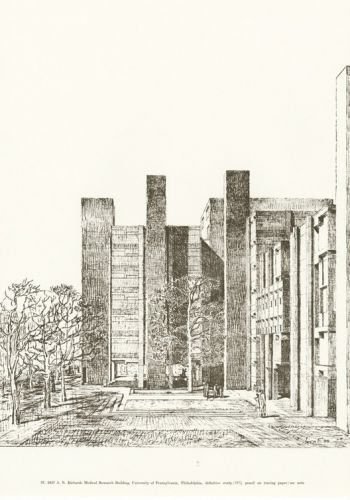 A Planned Reprint of a Popular Book on Louis Kahn Brings His Drawings within Reach