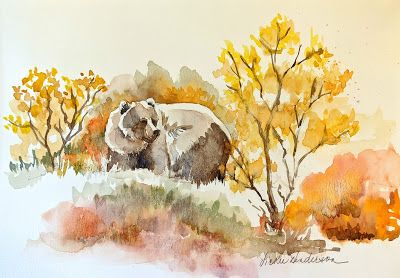 Revisiting Alaska with Sketches-Vickie Henderson