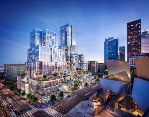 Gehry Celebrates Groundbreaking for The Grand in Los Angeles
