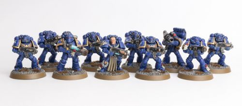 Showcase: Ultramarines Tactical Squad II