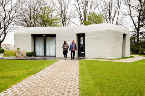 The Future Is Now: 3D Printed Houses Start To Be Inhabited in the Netherlands