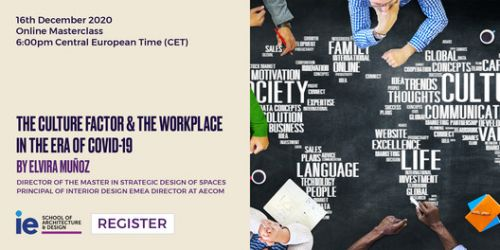 Online Masterclass: The Culture Factor and the Workplace in the Era of COVID-19
