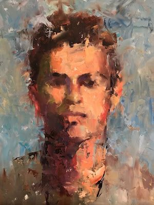 A Palette Knife Portrait