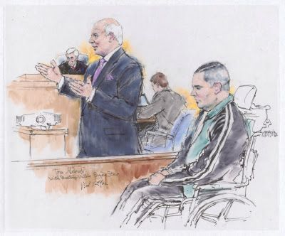 Exhibit of Courtroom Art