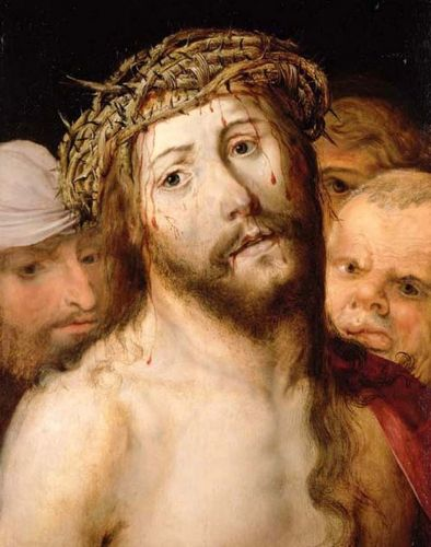 1500s Unknown Flemish painter, Jesus on Good Friday
