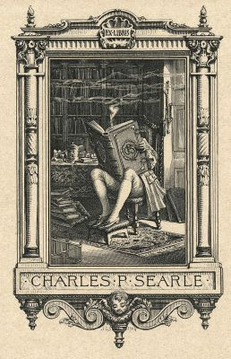 Worth a Thousand Words: Bookplate of Charles P Searle
