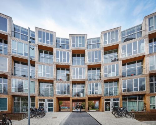 Homes for All - Dortheavej Residence / Bjarke Ingels Group