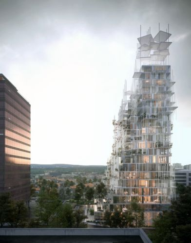 "Sou Fujimoto, Nicolas Laisné and Dimitri Roussel to Build 28,000 sqm ""Village Vertical"" in Grand Paris"