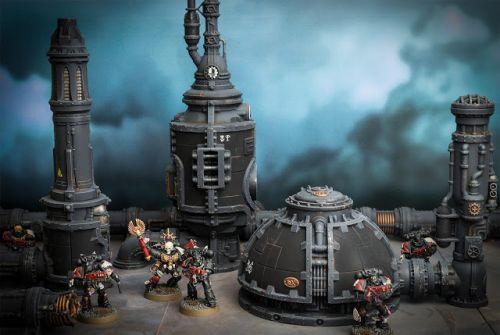 Showcase: Sector Mechanicus Alchomite Stacks