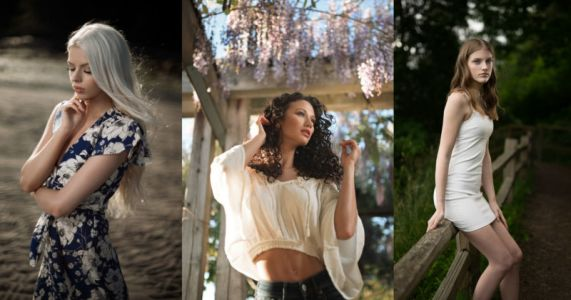 How to Choose Your Portrait Photo Background on Location