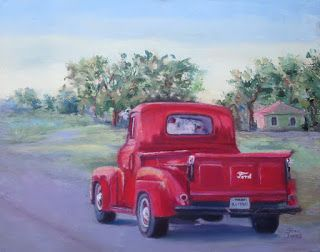 Cruising Ford, New Contemporary Painting by Sheri Jones