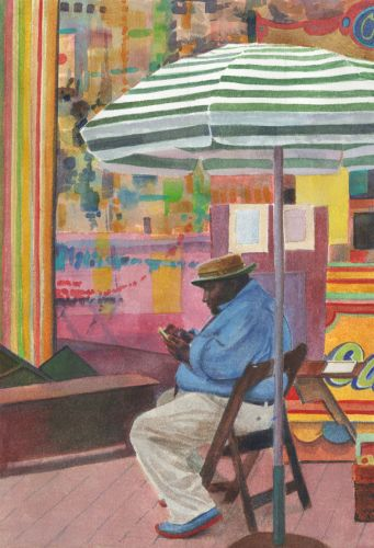 Watercolor: Caricaturist and Creative Clarity links