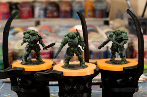 WIP: Primaris Dark Angel Reivers