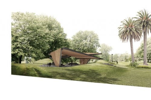 New Details Released of Estudio Carme Pinós' 2018 MPavilion in Melbourne