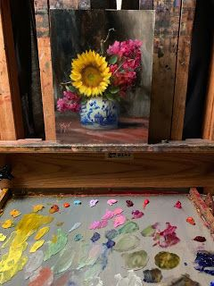 Therapy Flowers by artist Pat Meyer