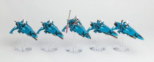 Showcase: Eldar/Aeldari Windriders of Craftworld Iybraesil