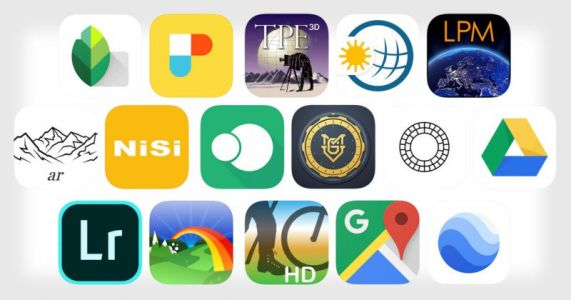 16 of the Best Apps for Landscape Photography
