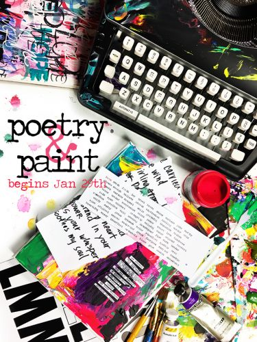 New class poetry and paint!