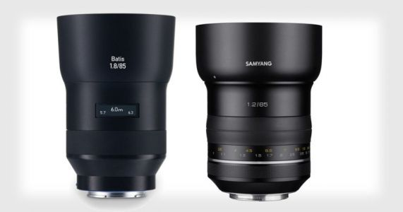 Zeiss Accuses Samyang of Stealing Its Lens Designs