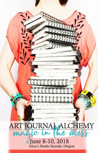 NEW! june art journal alchemy retreat available