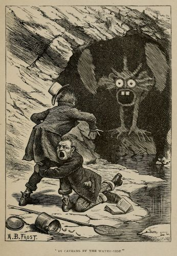 """Arthur Burdett Frost - Illustrations for Lewis Carroll's """"Rhyme? and Reason?"""" 1901"""