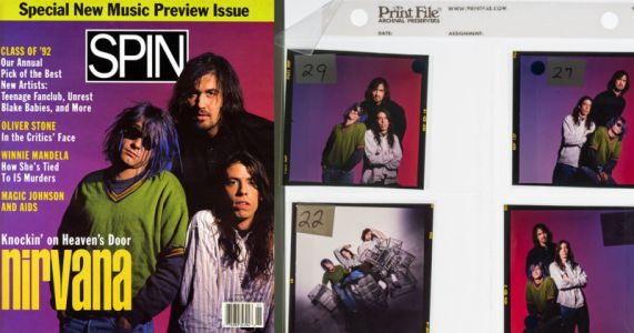 Photographer Selling Copyright to Nirvana's First Major Magazine Cover Shoot