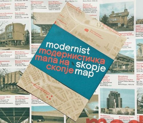 The Modernist Skopje Map, A Pocket Guide to Brutalist Architecture in Macedonia's Capital