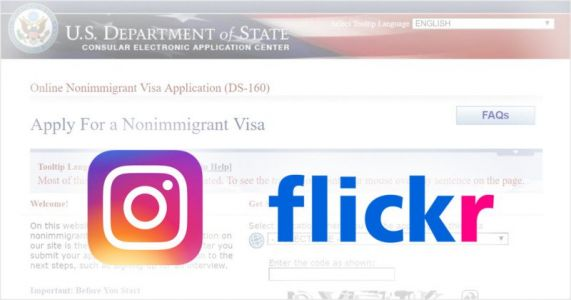 US Now Requires Instagram and Flickr Usernames from Visa Applicants
