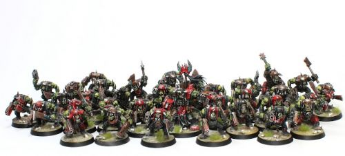 Showcase: Space Ork Slugga Boyz
