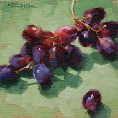 Grapes On Green