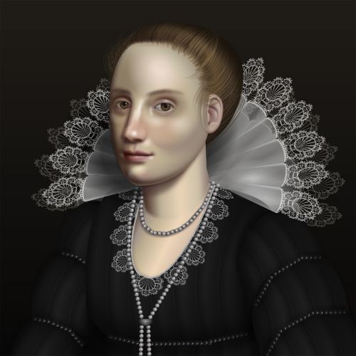 Painting With Code: UI Engineer Diana Smith Creates Baroque-Inspired Portraits with CSS