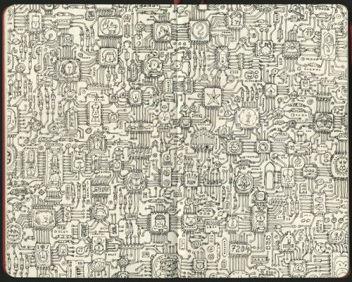 Scanned circuit