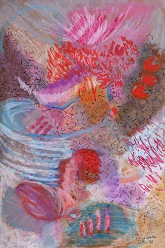 """Abstract Expressionism Painting """"Untitled"""" by Kit Hedman"""