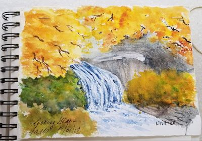 Journal - Looking Glass Falls - Lin Frye - North Carolina