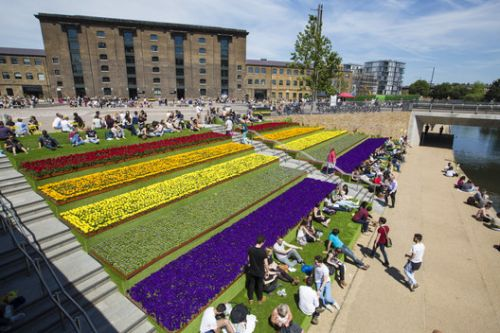 Canal Corridor, King's Cross / Townshend Landscape Architects