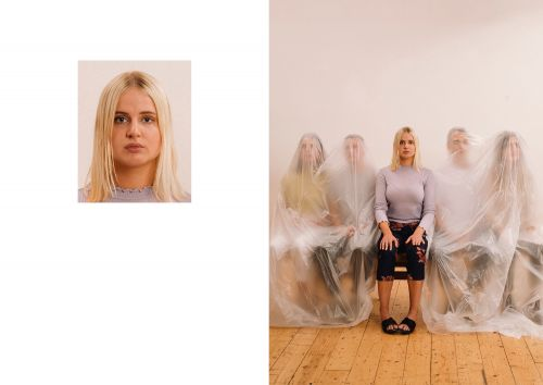Passport Photos Widened to Reveal Unexpected Chaos Hiding Just Beyond of the Frame