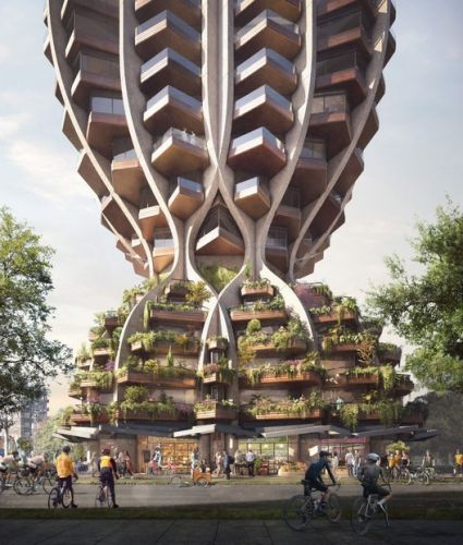 Heatherwick Studio Unveils Pair of Curvaceous Towers for Vancouver