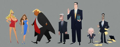 """Stupid Watergate"" - the animated feature film concept"