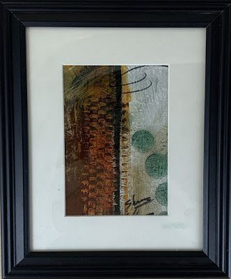 """Expressionism, Contemporary Painting, Framed Abstract Art, """"Zipped"""" by Texas Contemporary Artist Sharon Whisnand"""