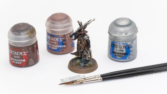 Tutorial: How to paint Jelson Darrock from Warhammer Quest Cursed City