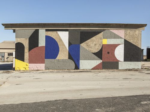 """""""Dismantle"""" by Greg Jager for Bitume in Ragusa, Sicily, Italy"""