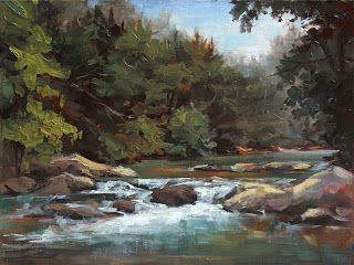 Plein Air Painting at Frog Hollow