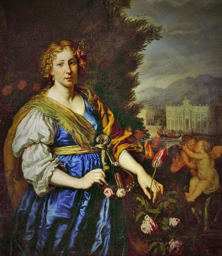 17C Personification of MAY by Joachim von Sandrart (1606-1688)