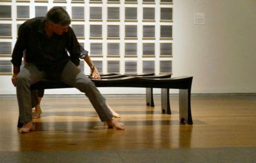 100 DRAWINGS, 100 GESTURES: : MODERN STRUCTURE with BERG, JONES, SARVIS Dance at Portland Museum of Art