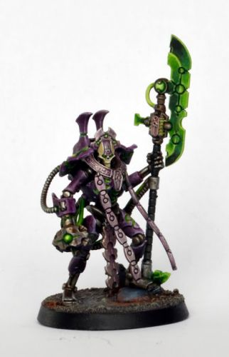 Sowcase: Necron Overlord from Indomitus